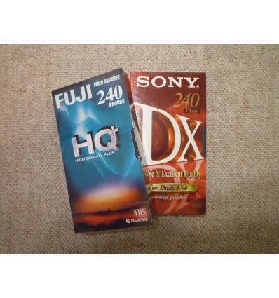 Videobånd - diverse mærker