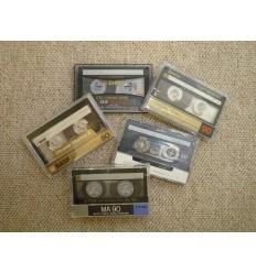Kassettebånd - diverse mærker